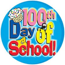 Picture of the 100th day of school celebration.