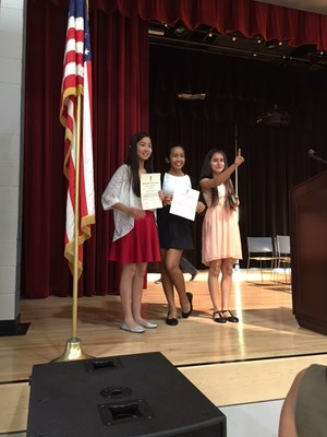 Johnson National Junior Honor Society Students