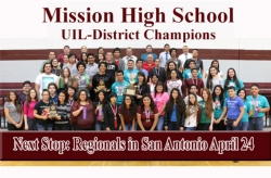 The Monitor Covers Mission High School UIL Advances in Competition.