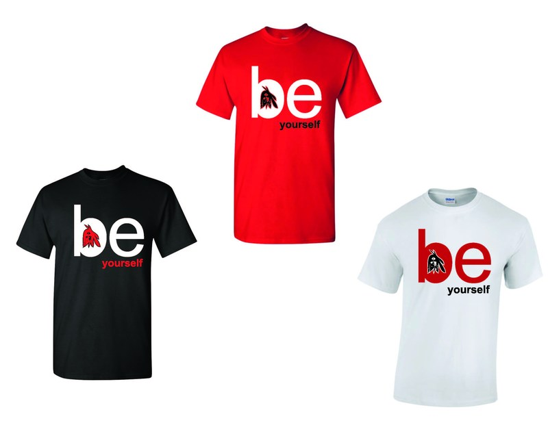 Be Yourself T-shirt Fundraiser T-shirt image
