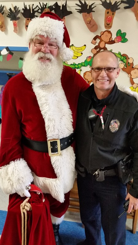 Thank you Officer Hutton for finding Santa! Thumbnail Image