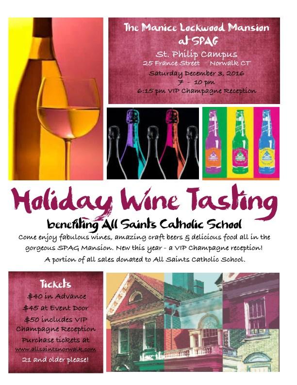Holiday Wine Tasting 2016 Thumbnail Image