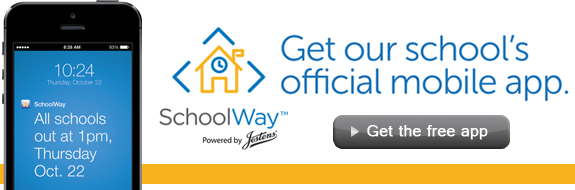 Get our Mobile App- SchoolWay!
