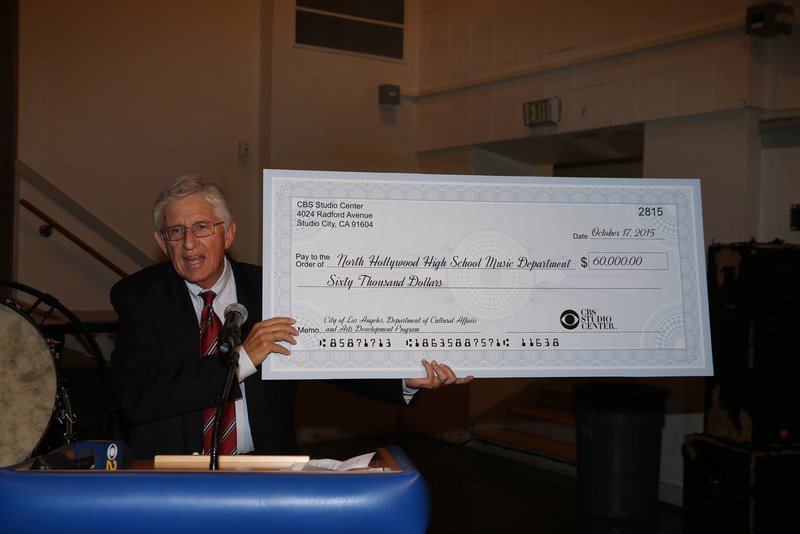 $60,000 Donation from CBS!