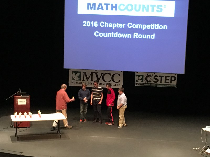 Central New York Math Counts Competition