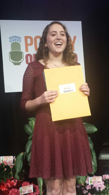 Mustang Rocks Poetry Out Loud