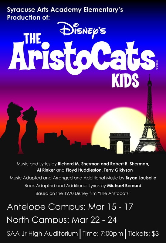 """Bring the family out for SAA Production of """"Aristocats"""""""