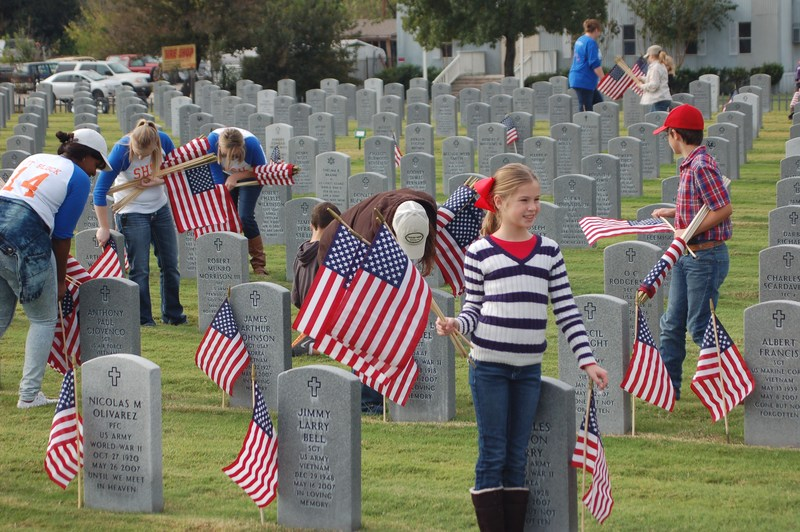 6th Annual Flags for Our Heroes
