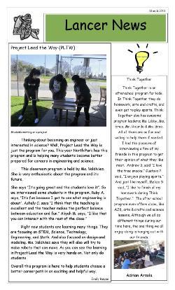 Lancer Newsletter