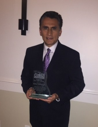 Our Principal, Mr. Rafael Balderas, Honored