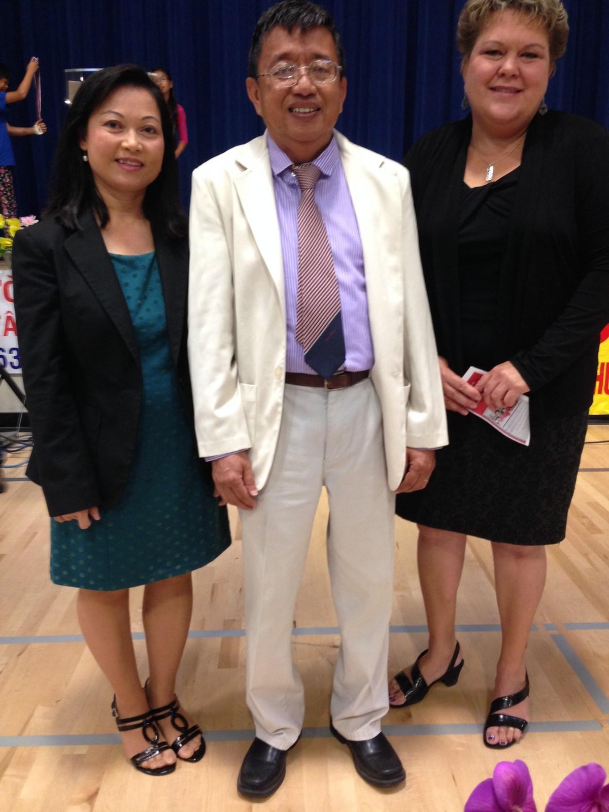 Westminster Vietnamese Language School Graduation at Warner School