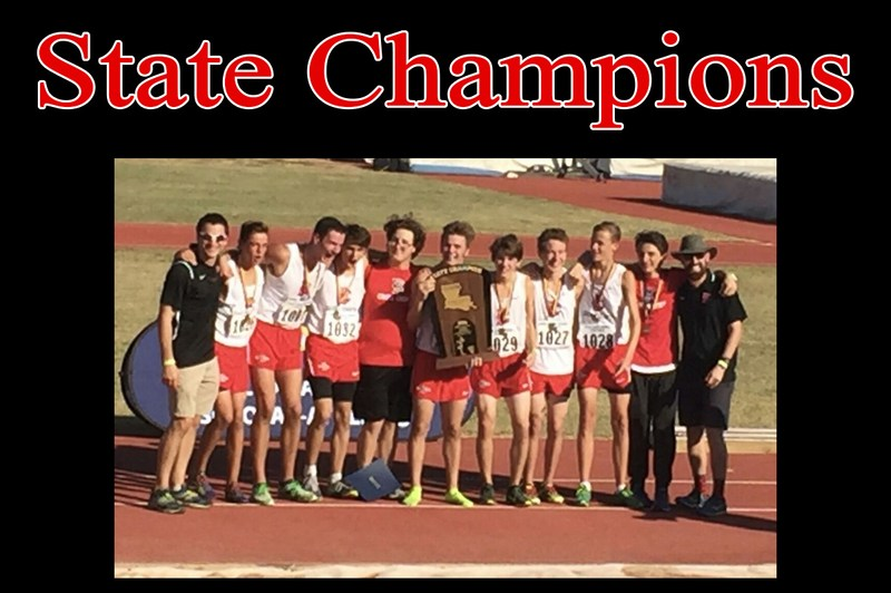 Boys Cross Country Win State Championship! Thumbnail Image
