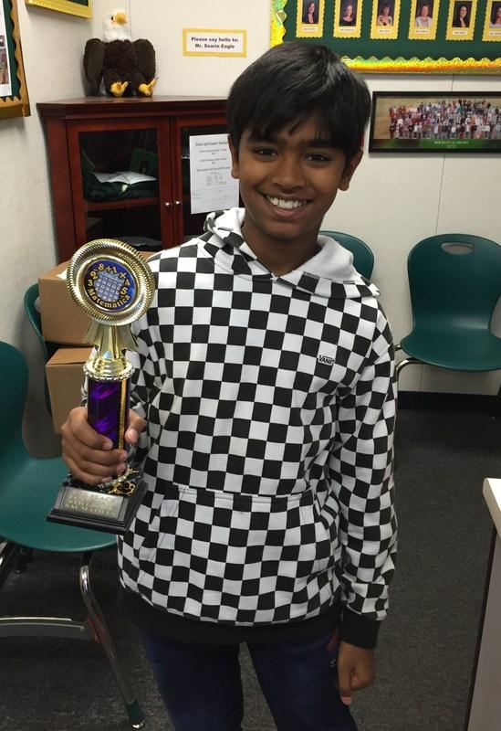 SAC MATH Contest Winner!