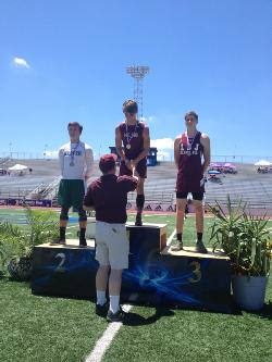 Regional Champion in the Pole Vault