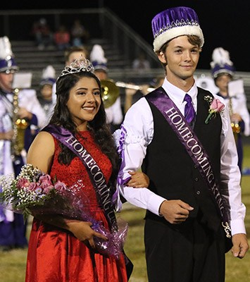 Homecoming Queen Crowned Thumbnail Image