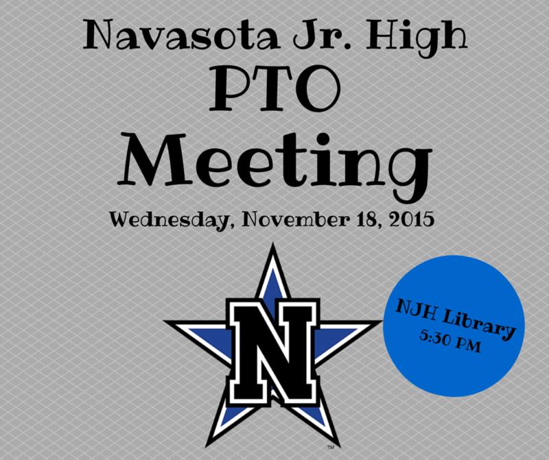 PTO Meeting - Wednesday, November 18th