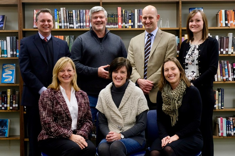 Photo of Board of Education Members, Superintendent, Treasurer