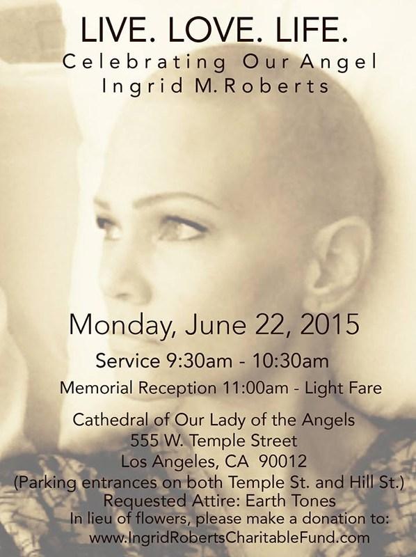 In Memoriam: Ingrid Roberts '85