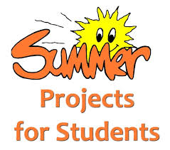 Student Projects for Summer: Reading & Math