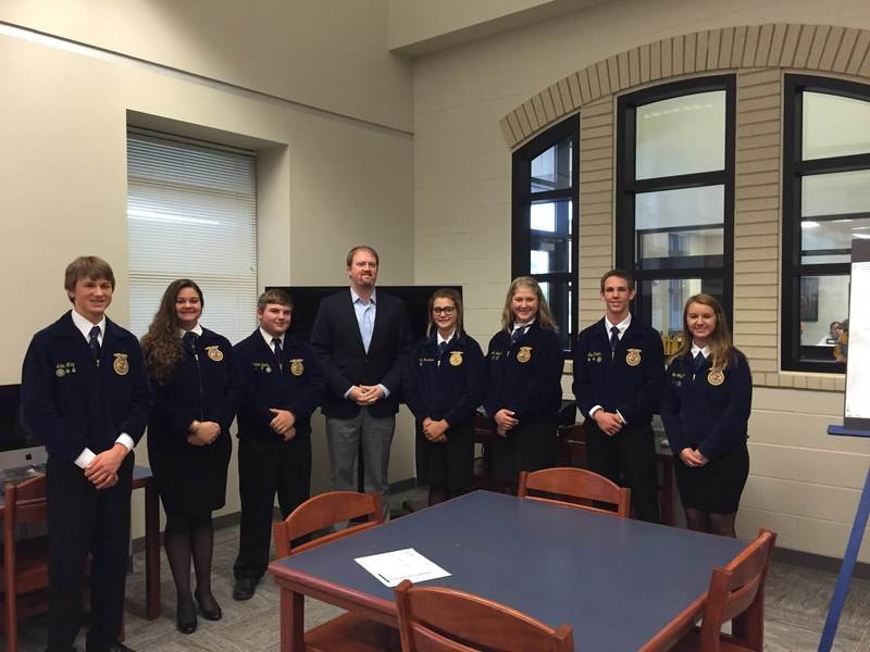 FFA Teams Gearing up for Area Contest