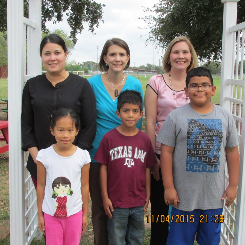 Pleasanton Elementary November Students of the Month