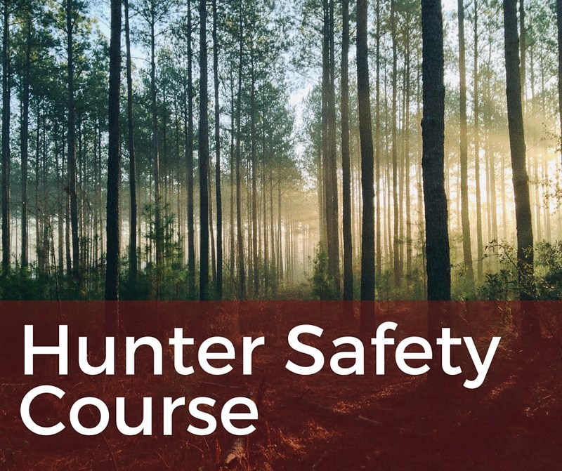 Community Ed Offering Hunter Safety Course