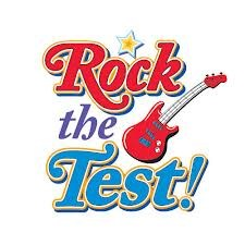 Rock the Test clipart
