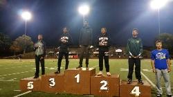 Trey Johnson 400m OIA Track Champion