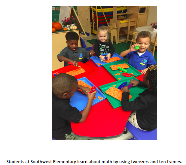 FCPS Pre-K Students Utilize Senses to Learn Thumbnail Image