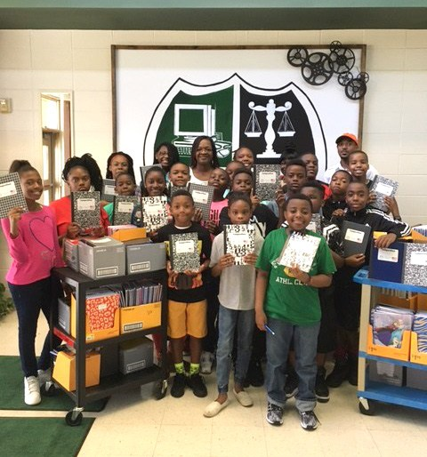 Walmart makes big school supplies donation to AMS Thumbnail Image