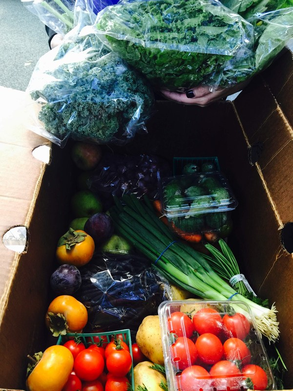 Fresh Produce at Horace Mann