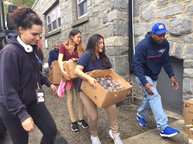 ECO Students Hold Food Drive for Covenant Soup Kitchen Thumbnail Image