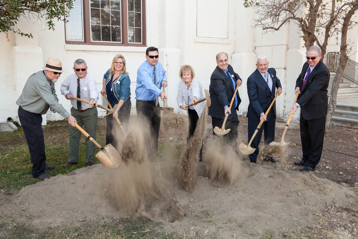 November 4, 2014 Groundbreaking ceremony