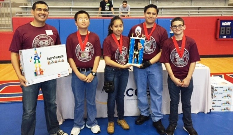 State recognition! Kenneth White Jr. High Robotics Team Places 2nd at State Competition