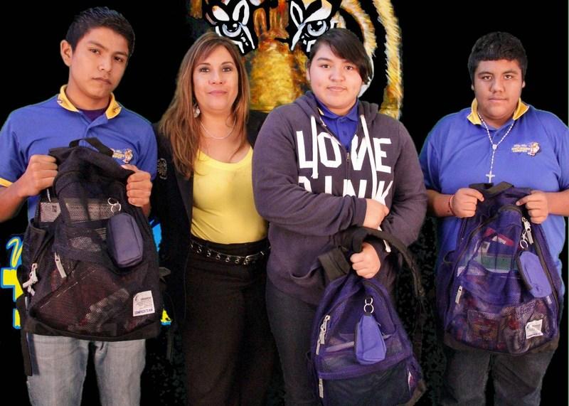 Raffle Winners!!! Backpack and school supplies.
