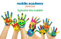 Rocklin Academy Preschool Application Now Available!