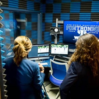 Maria Bartiromo Broadcast Journalism Studio! Thumbnail Image
