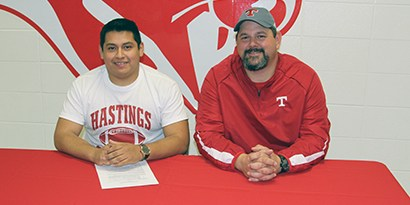 Senior Signs Letter of Intent