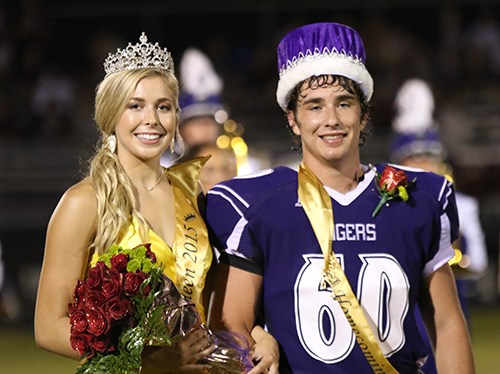Haley Couch Crowned Homecoming Queen