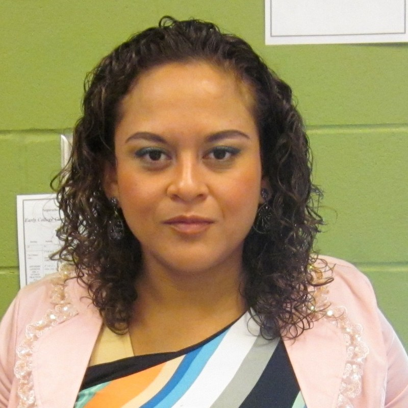 Tiger Rays of the Tiger Spotlight are shining on Julissa Esquivel, ECC 8th English Teacher.