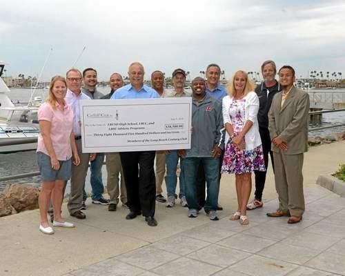 "Press-Telegram Feature: ""Century Club makes record donation to Long Beach schools"""