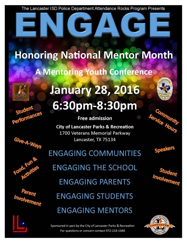 Lancaster Presents ENGAGE: A Mentoring Youth Conference