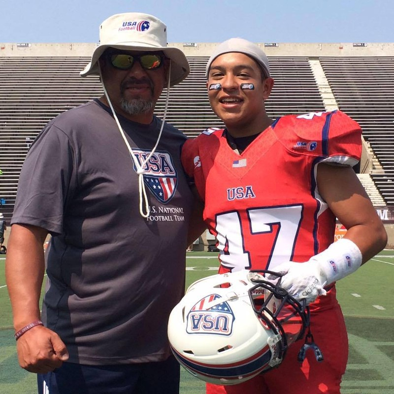 St. Francis Football Player Chosen to U-16 Junior National Team