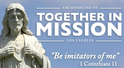 """Be Imitators of Me."" Join us in supporting TOGETHER IN MISSION!"