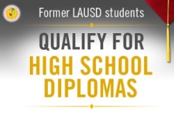 LAUSD launches outreach to 8,100 former students eligible for a high school diploma