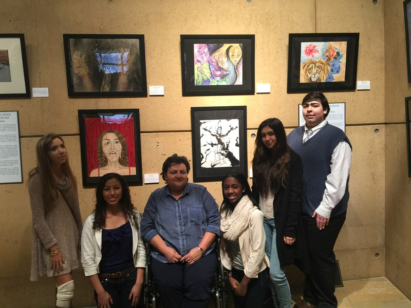 Art Exhibit Featuring Five Amat Artists!