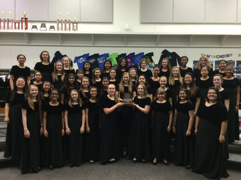 7th & 8th Grade Choirs Receive Sweepstakes!
