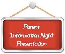 6th Grade Parent Night Information