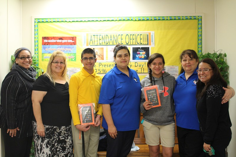 CCHS Perfect Attendance Winners for the Fall Semester
