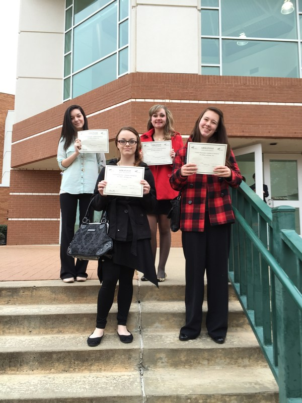 Students place at the FBLA District  Leadership Conference